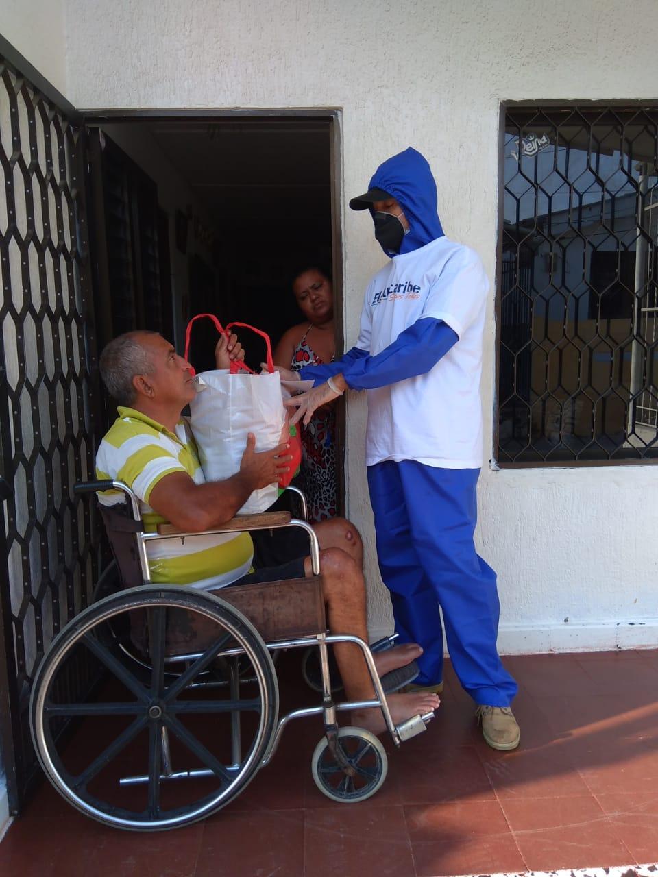 @ElectricaribeSA distribuye ayudas entre las personas más vulnerables de la #RegiónCaribe