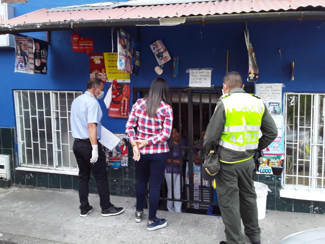 Continúan las inspecciones a establecimientos de Manizales