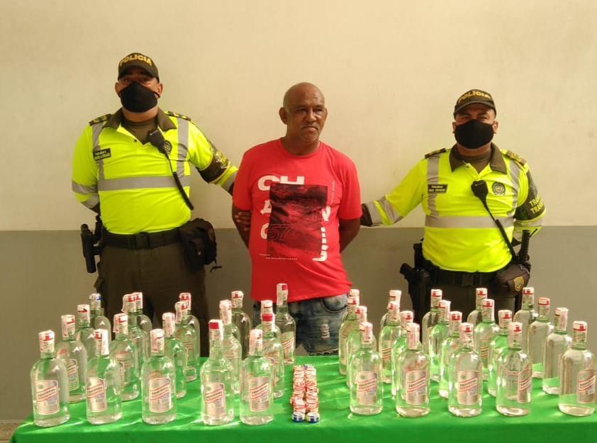 Por imitación de alimentos y violación a medidas sanitarias, Policía de Barranquilla capturó a dos personas