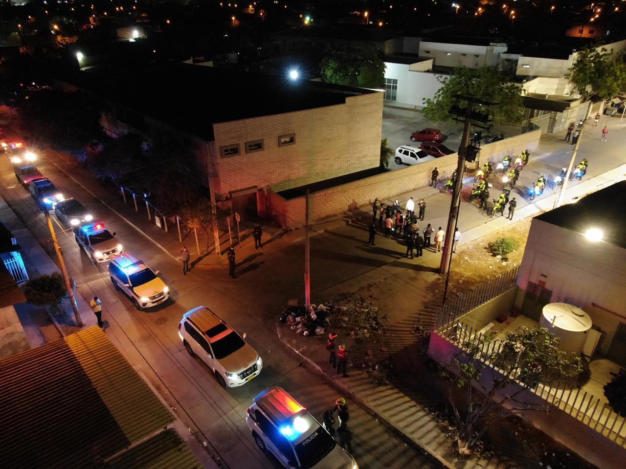 49 comparendos en tres noches de toque de queda en Soledad, Atlántico