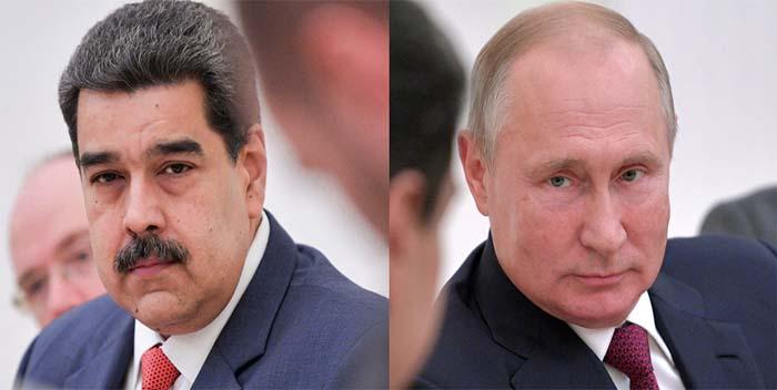 @NicolasMaduro se comunicó con Putin para pedir una vez más su apoyo