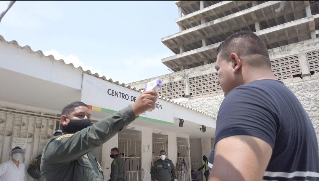 Oficina para la Seguridad y Convivencia Ciudadana refuerza protocolos de bioseguridad en la UCJ  @alcaldiabquilla