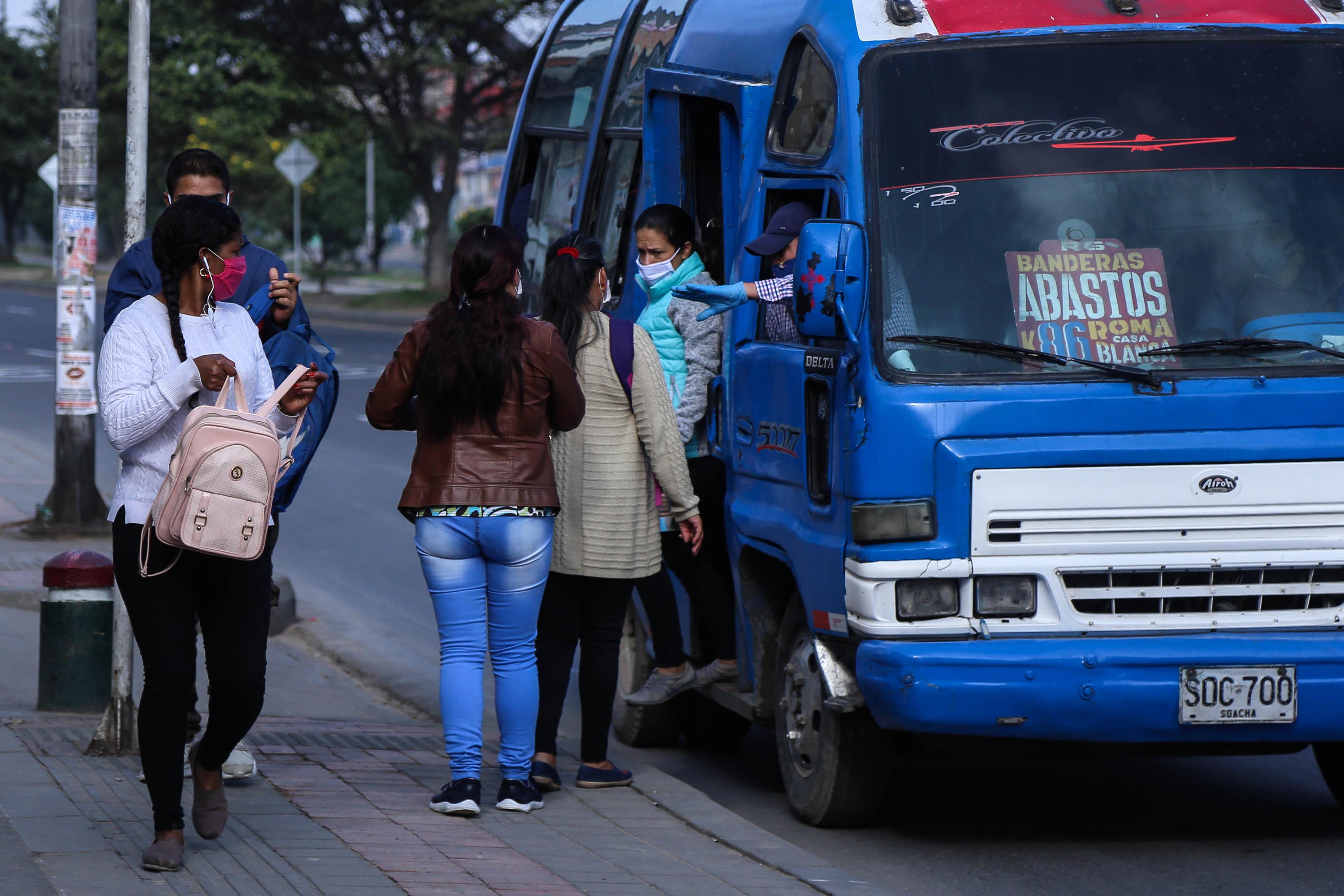 Enfermera fue agredida en un bus de Bogotá