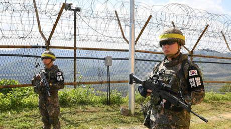 Disparos en la frontera entre Corea del Norte y Corea del Sur