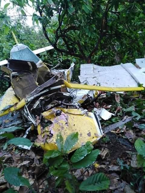 Se accidentó avioneta de fumigación en el Departamento de Magdalena