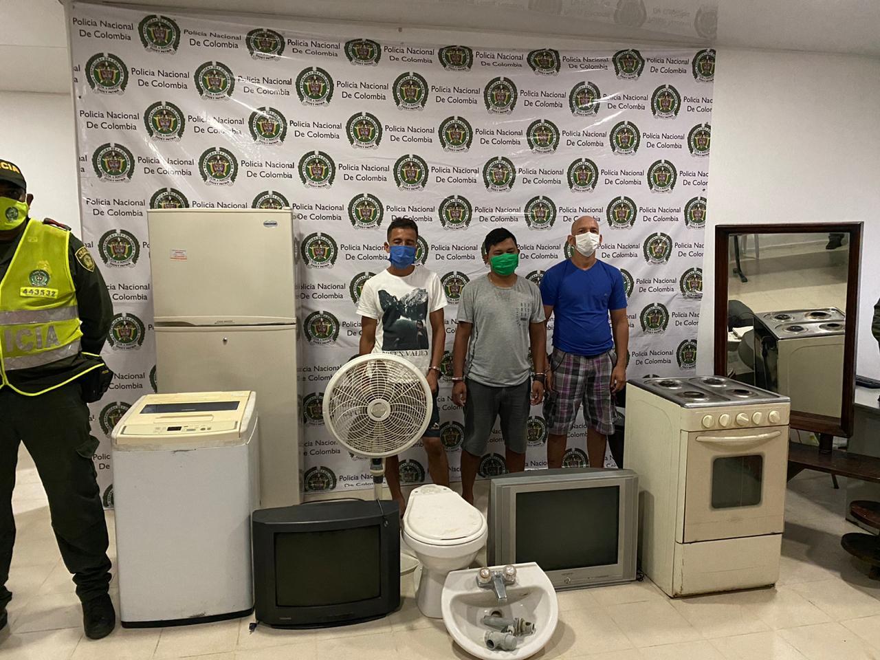 Recuperan electrodomésticos que hurtaron en casa de anciana en Puerto Colombia, Atlántico