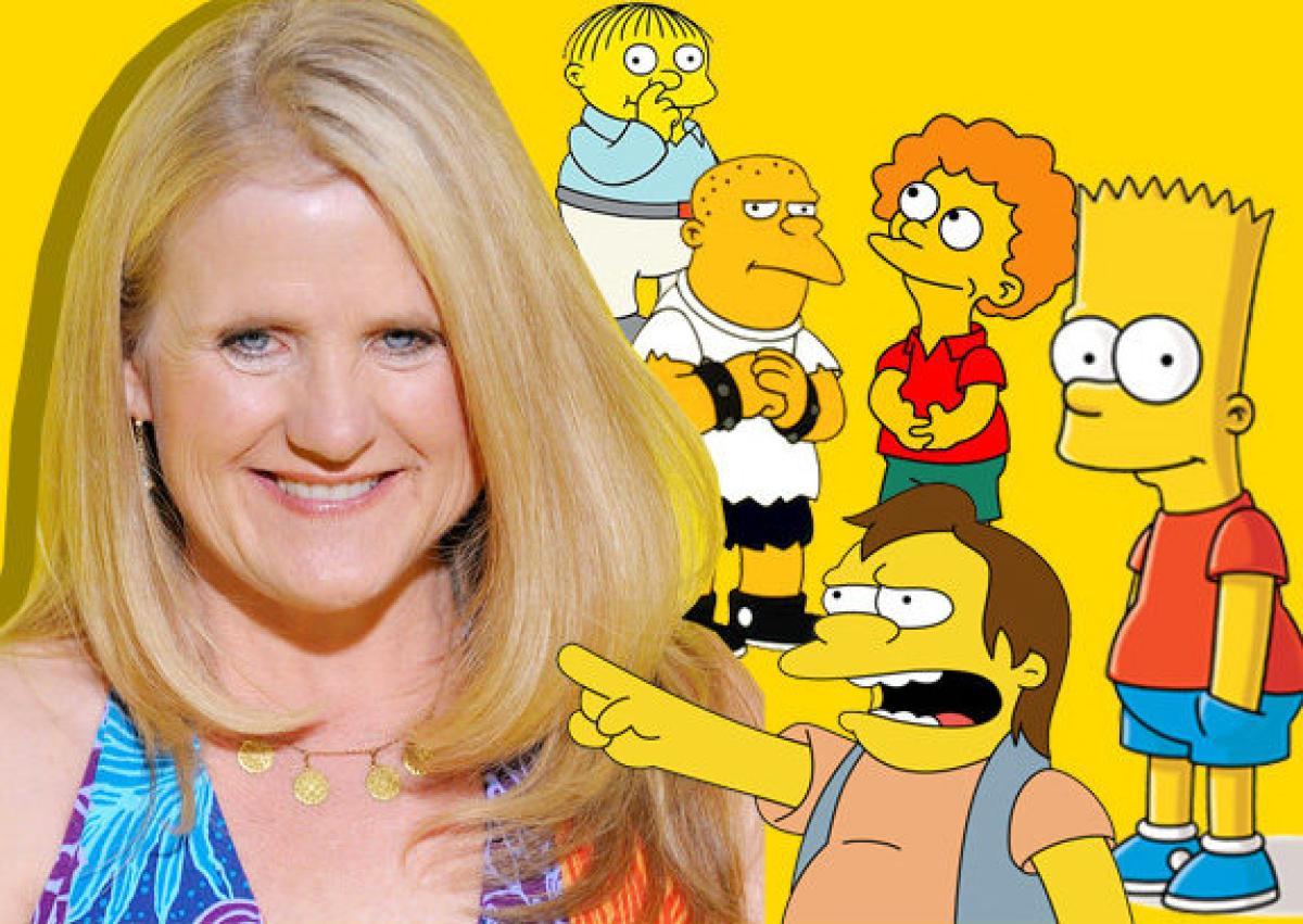 Actriz de doblaje de Los Simpson hace hasta 7 voces en medio minuto