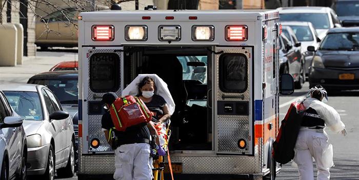 #NewYork registra menor número de hospitalizaciones desde confinamiento