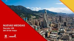 Nuevas medidas mediante decreto 126 que regirán desde hoy lunes 11 de mayo en Bogotá