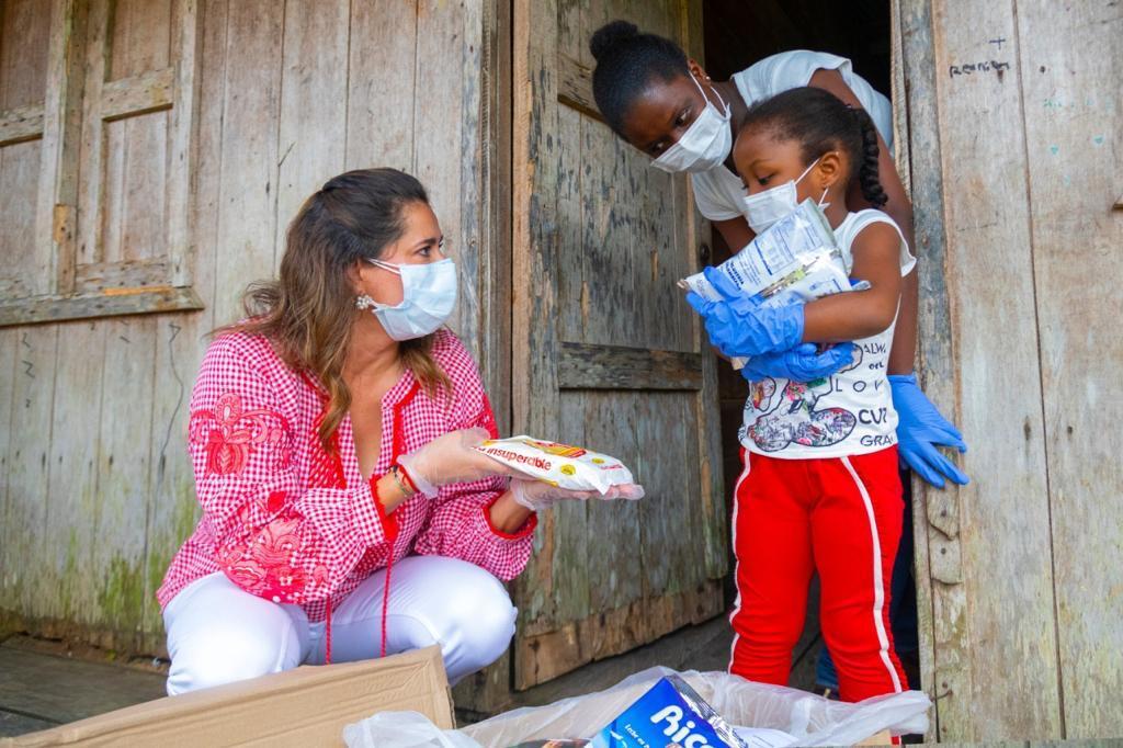 Desde El Horizonte, en Quibdó (Chocó), la Primera Dama reiteró a la comunidad la importancia de la nutrición en cuerpo y alma