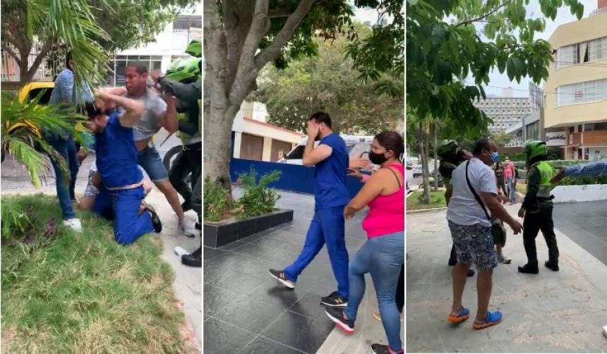 Pediatra fue agredido en el norte de Barranquilla