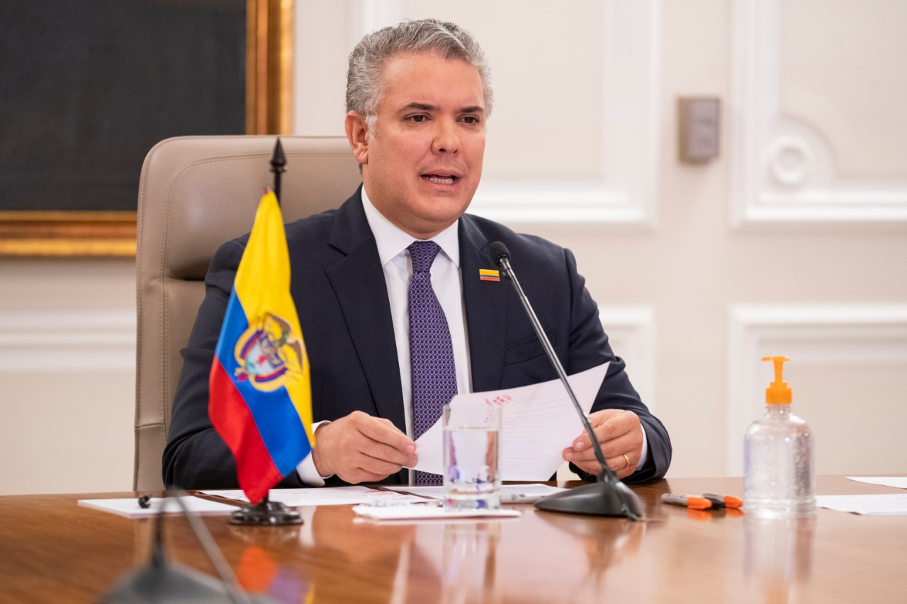 """Iván Duque: """"Colombia llegó al 90% de recuperados de Covid-19"""""""