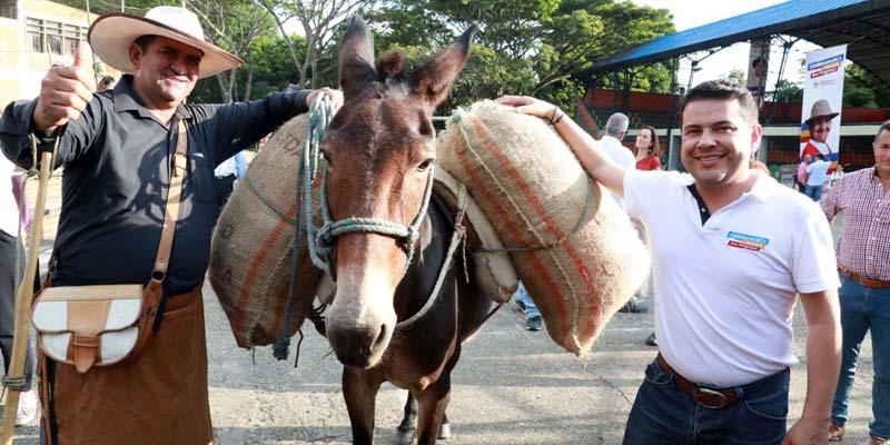 Desde el campo inicia la reactivación económica, tras la emergencia por el covid-19, indico Nicolás García Gobernador de Cundinamarca