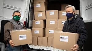 Estados Unidos dona a Chile insumos para enfrentar la pandemia