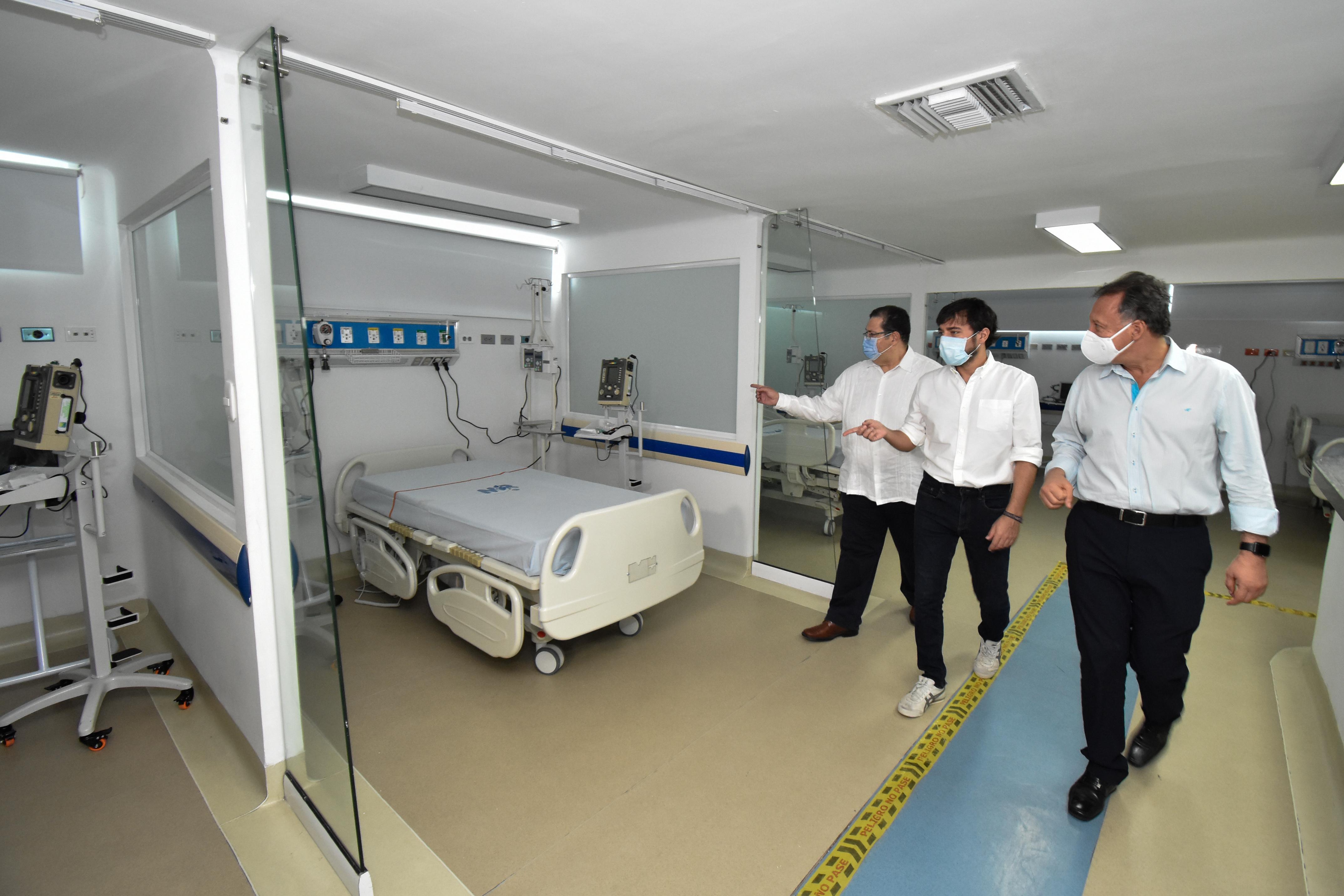Comenzó instalación de 49 nuevos ventiladores que fortalecen capacidad de cuidados intensivos en Barranquilla