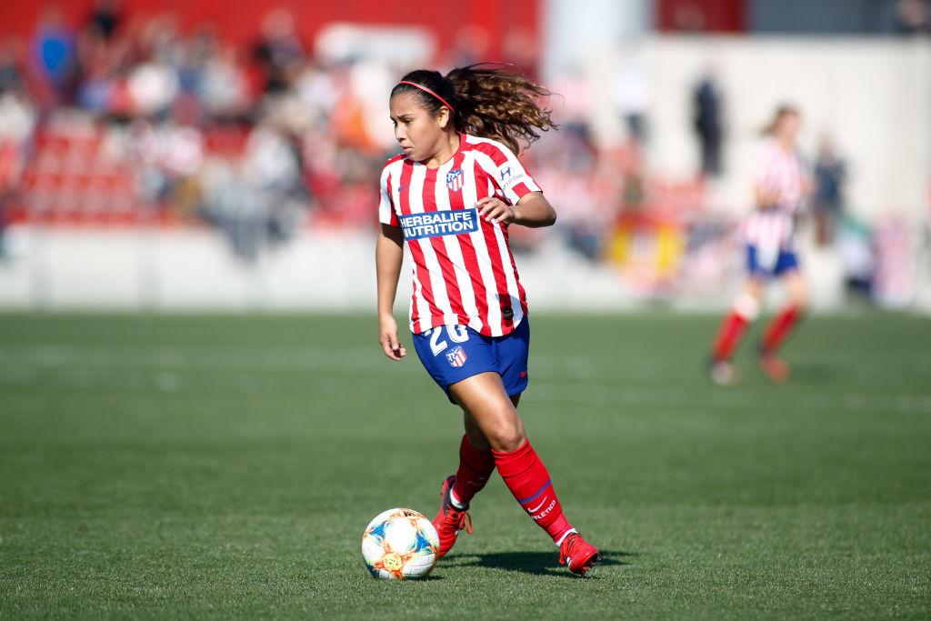 Leicy Santos continuará en Atlético de Madrid hasta 2021