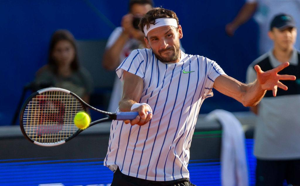 El tenista Grigor Dimitrov dio positivo por Covid-19