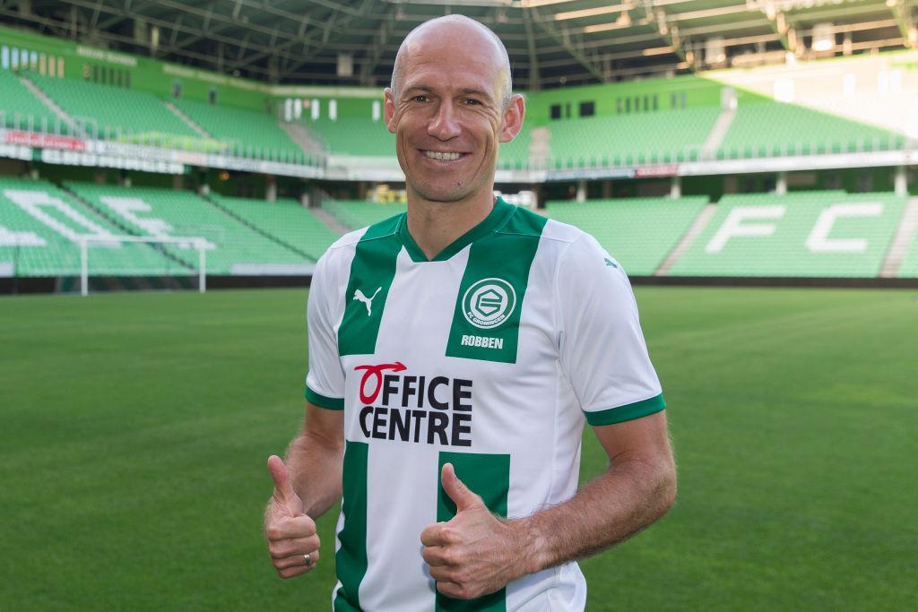 Arjen Robben regresa al fútbol y jugará donde hizo su debut como profesional