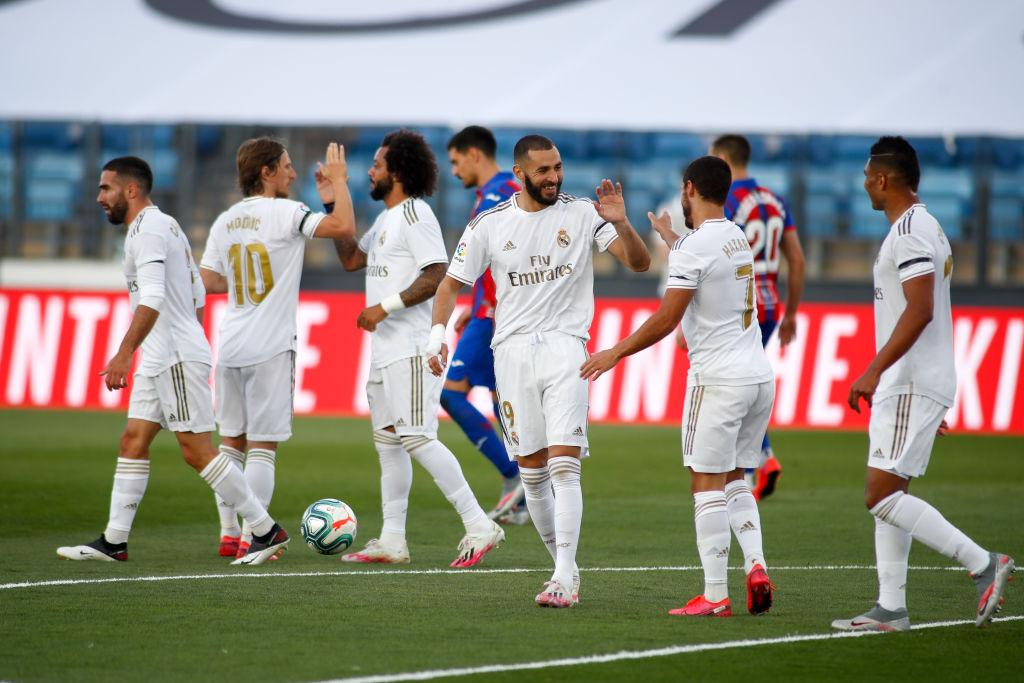 Victoria del Real Madrid ante Eibar y James Rodríguez fue suplente