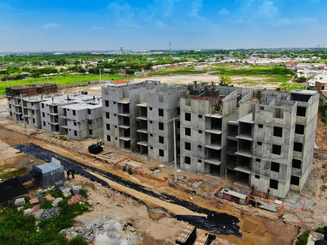 Avanza la construcción de 980 viviendas en cuatro municipios del Atlántico