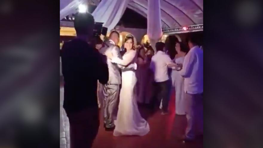 VIDEO | Así fue la fiesta del alcalde de Algeciras por su matrimonio en plena pandemia