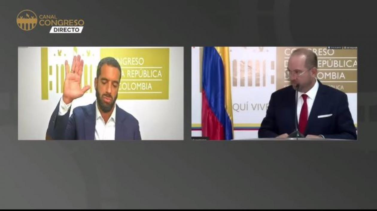 @arturocharc, nuevo presidente del Congreso de la República