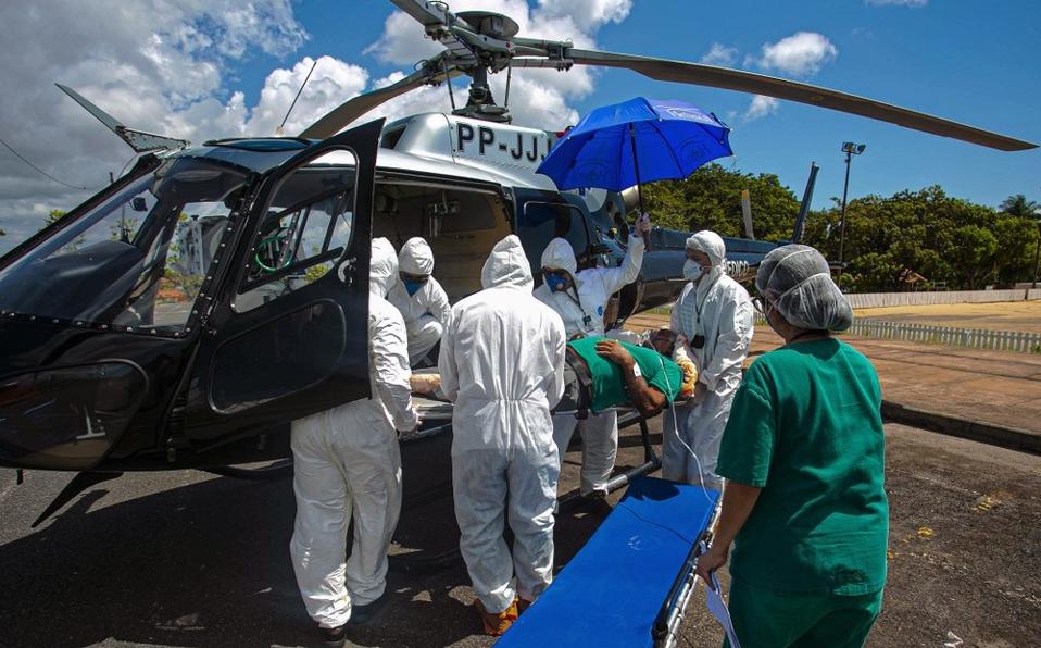 Brasil supera los 2 millones de casos de COVID-19