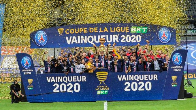 PSG Campeón de la Copa de la liga y reina en Francia