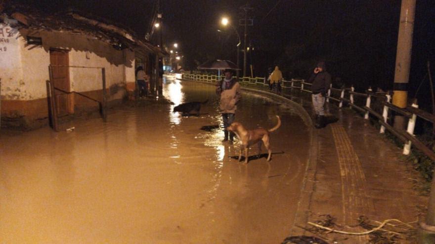 Fuertes lluvias en Antioquia dejaron un muerto y 15 municipios afectados