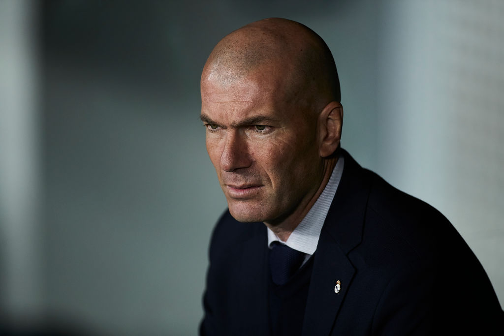"""Zinedine Zidane:""""James está diciendo la verdad, él quiere jugar más"""""""