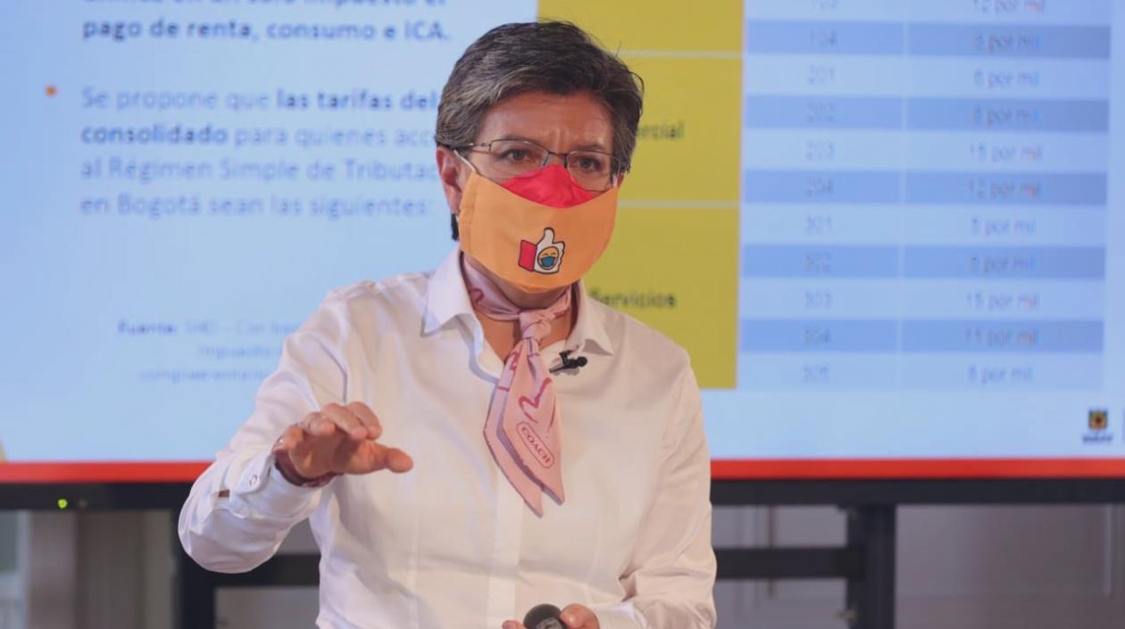 Alcaldesa @ClaudiaLopez propone un «Plan Marshall» para reactivar economía