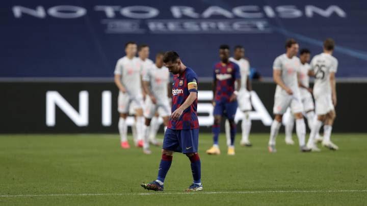 Violación futbolística!!! Bayern le metió 8 al Barcelona y se mete en semifinales de Champions