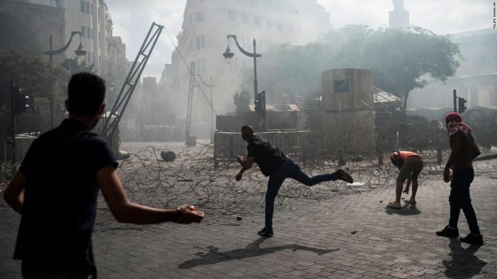 En el Líbano  se convocaron protestas contra el Gobierno