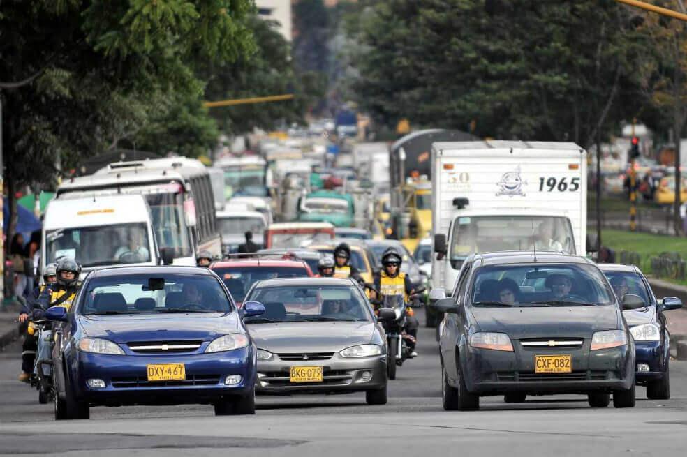 Que sucederá con el pico y placa en la capital Colombia