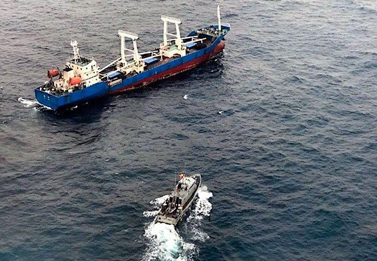 China prohíbe a su flota pesquera trabajar cerca de Galápagos