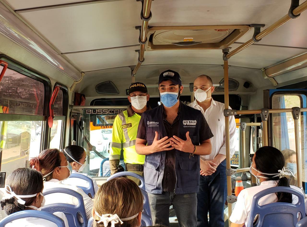 En nueva fase de aislamiento selectivo, AMB garantiza movilidad de ciudadanos en transporte público