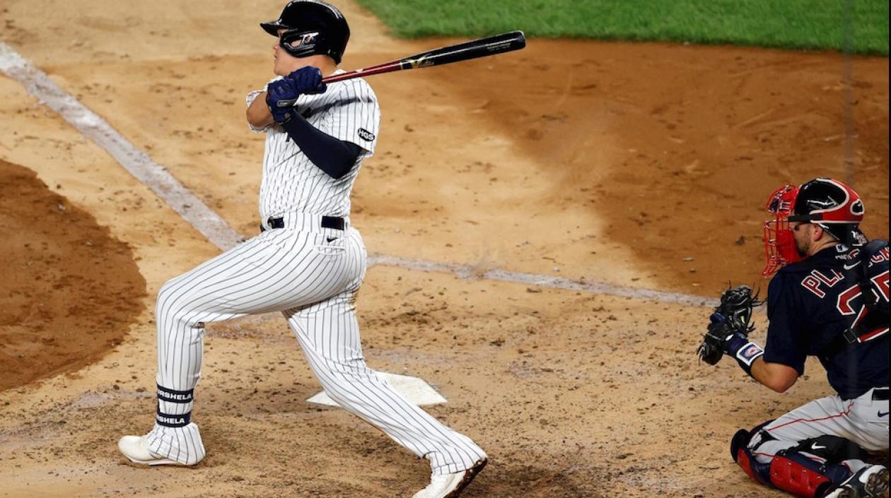 ¡Gio Urshela, imparable en Grandes Ligas!: de 4-3 y Yankees ganaron 9-7 a Medias Rojas