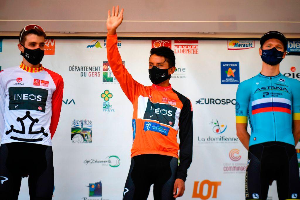 Egan Bernal campeón en la ruta de Occitania