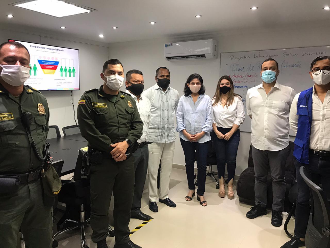 AMB, Gobernación y municipios de Galapa, Malambo y Puerto Colombia firman convenio para fortalecer convivencia ciudadana – @alcaldiabquilla @Gobatlantico