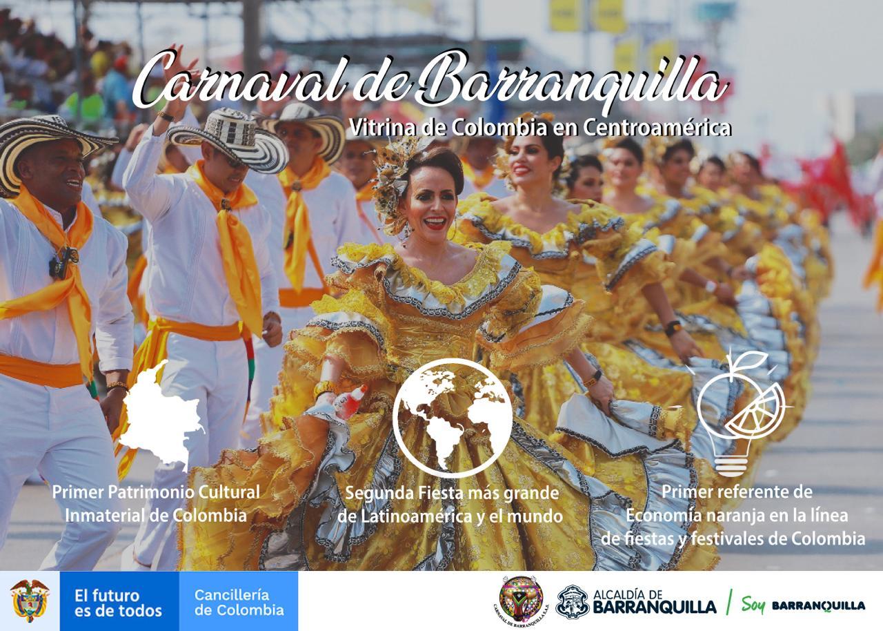 Carnaval de Barranquilla ventana de Colombia en Centroamérica – @Carnaval_SA
