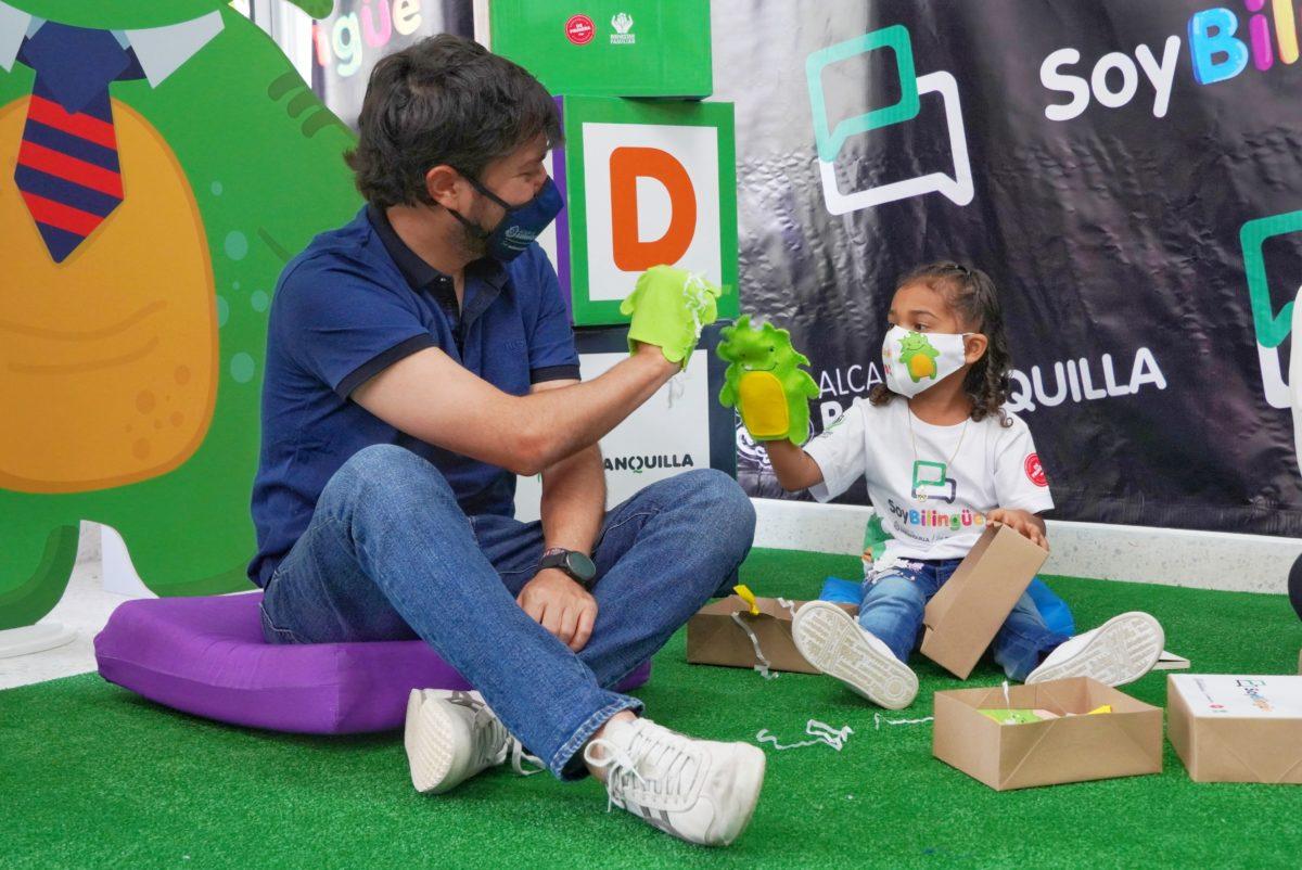La Barranquilla bilingüe comienza desde la primera infancia @alcaldiabquilla