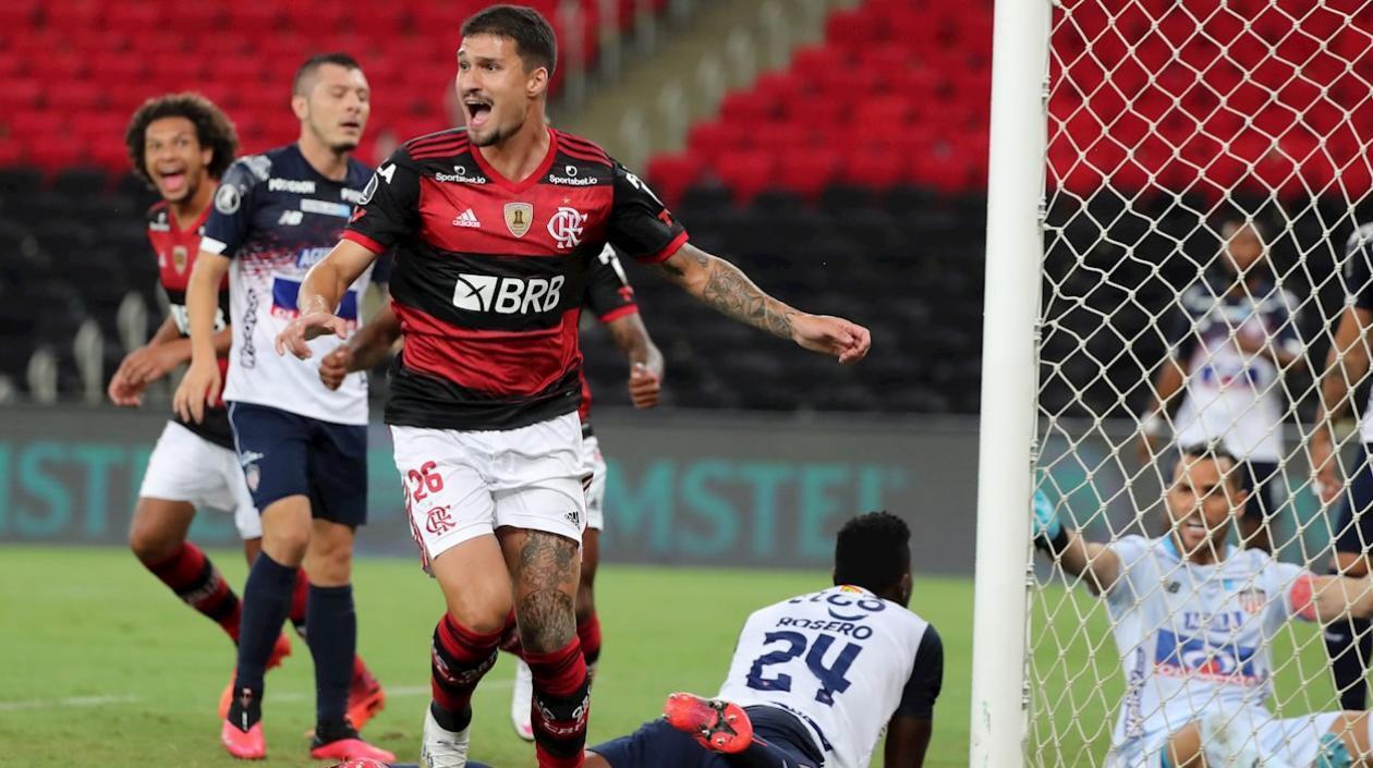 Junior cerró su participación en libertadores con derrota 3-1 ante Flamengo