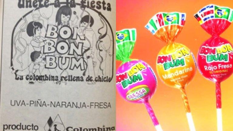 Bon Bon Bum, la deliciosa chupeta colombiana que cumple 50 años en el mercado.