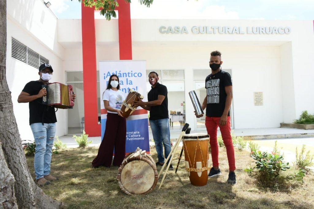 Casas de cultura son beneficiadas en Municipios del Atlántico- @gobatlantico