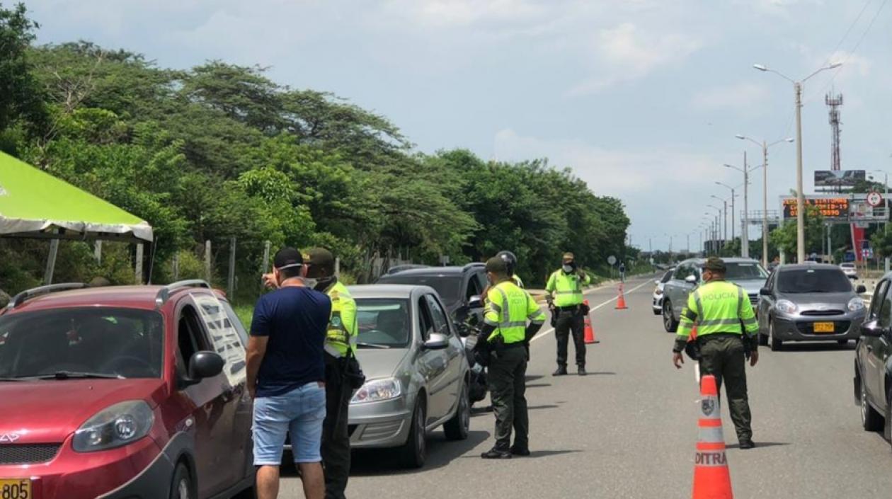540 inmovilizaciones de vehículos durante semana de receso escolar en Barranquilla