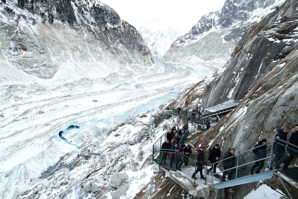 Los glaciares suizos se derriten a un ritmo alarmante