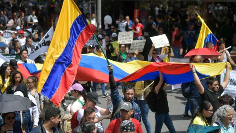 """Promotores del paro: """"Protestas seguirán hasta que @IvanDuque se baje del pedestal"""""""