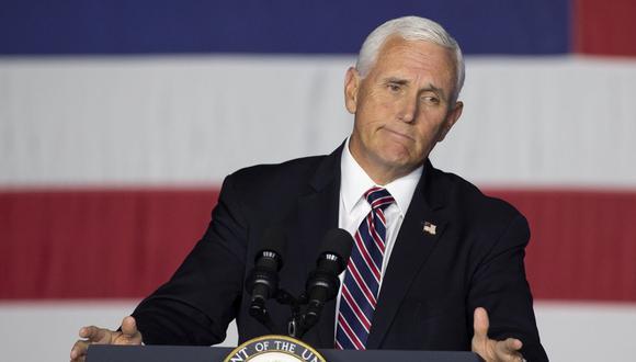 Vicepresidente Mike Pence y Pompeo dan negativo al Covid-19