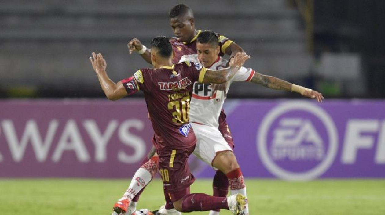 Unión La Calera eliminó al Deportes Tolima de la Copa Sudamericana