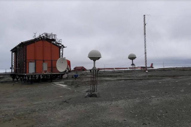 En Antártida U. Nacional instaló estación para prevenir desastres naturales